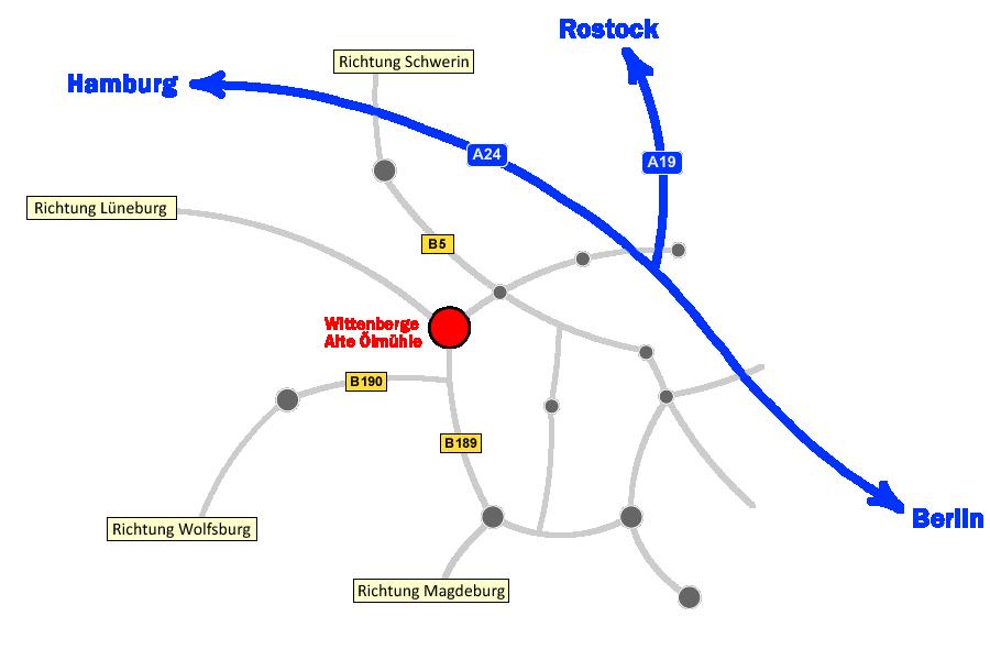 Anfahrt - Die Elbe Brennt